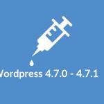 De Content Injection a RCE en WordPress 4.7.0-4.7.1 (sin plugins vulnerables)